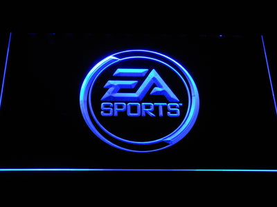 EA Sports LED Neon Sign - Blue - SafeSpecial