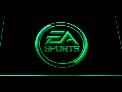 EA Sports LED Neon Sign - Green - SafeSpecial