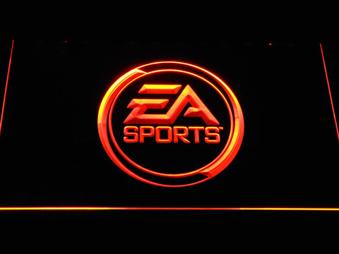 Image of EA Sports LED Neon Sign - Orange - SafeSpecial