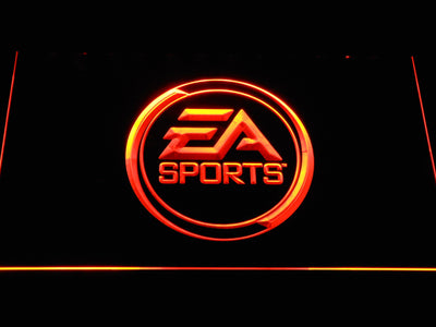 EA Sports LED Neon Sign - Orange - SafeSpecial