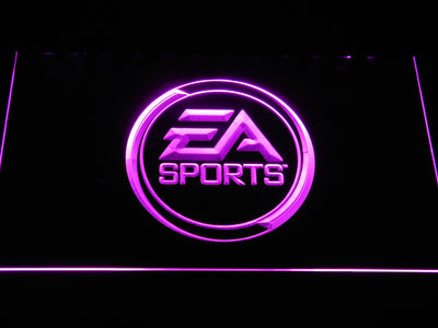 EA Sports LED Neon Sign - Purple - SafeSpecial