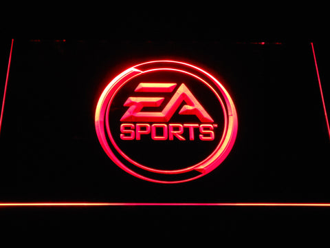 Image of EA Sports LED Neon Sign - Red - SafeSpecial