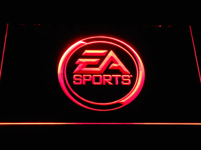EA Sports LED Neon Sign - Red - SafeSpecial