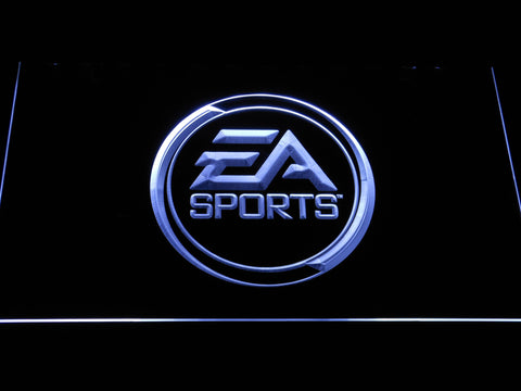 Image of EA Sports LED Neon Sign - White - SafeSpecial