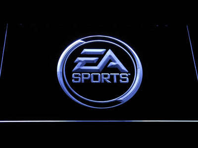 EA Sports LED Neon Sign - White - SafeSpecial