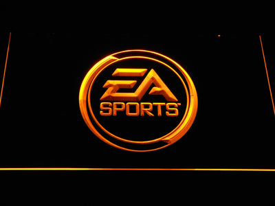 EA Sports LED Neon Sign - Yellow - SafeSpecial