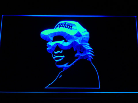 Eazy E LED Neon Sign - Blue - SafeSpecial
