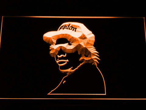 Eazy E LED Neon Sign - Orange - SafeSpecial