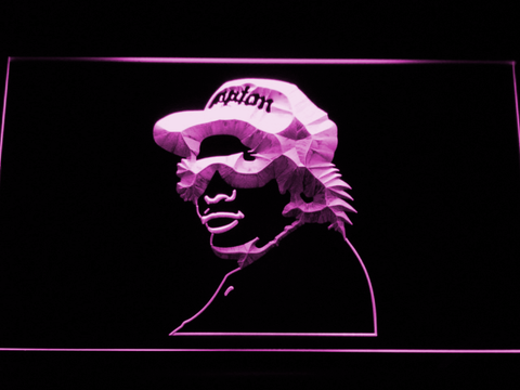 Eazy E LED Neon Sign - Purple - SafeSpecial
