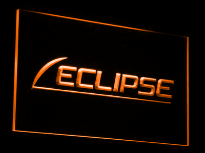 Eclipse LED Neon Sign - Orange - SafeSpecial