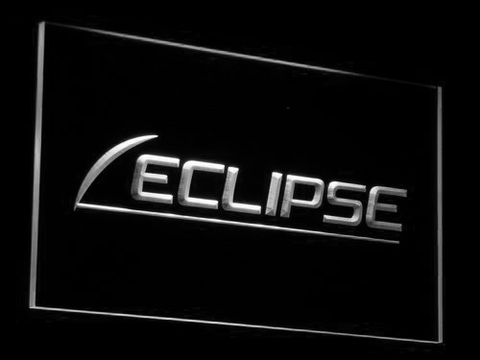 Eclipse LED Neon Sign - White - SafeSpecial