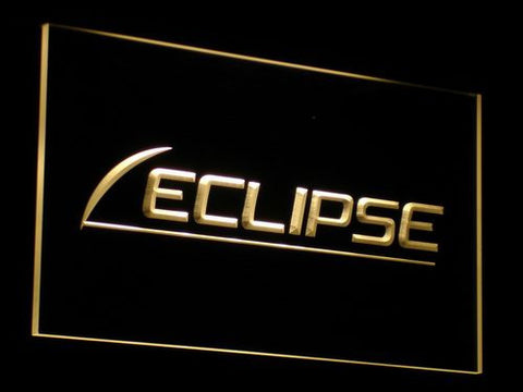 Eclipse LED Neon Sign - Yellow - SafeSpecial