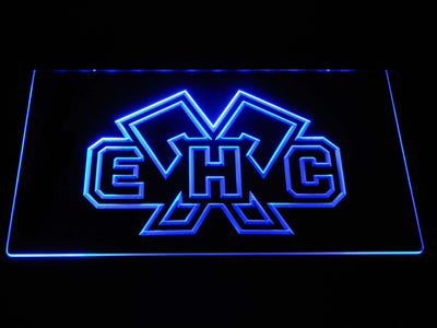EHC Biel LED Neon Sign - Blue - SafeSpecial