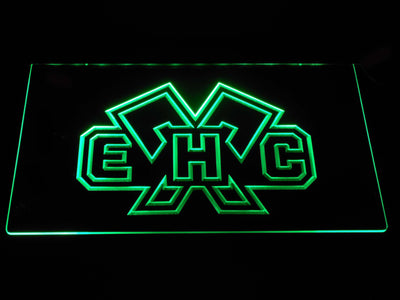 EHC Biel LED Neon Sign - Green - SafeSpecial