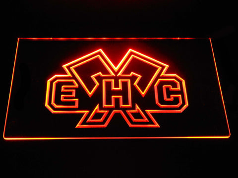 EHC Biel LED Neon Sign - Orange - SafeSpecial