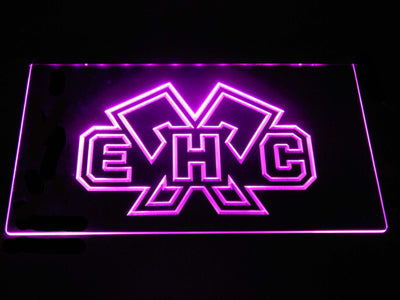 EHC Biel LED Neon Sign - Purple - SafeSpecial