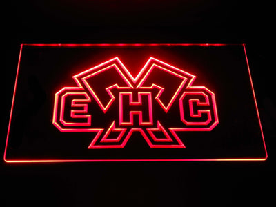 EHC Biel LED Neon Sign - Red - SafeSpecial