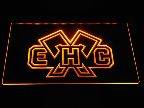 EHC Biel LED Neon Sign - Yellow - SafeSpecial