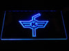 EHC Kloten LED Neon Sign - Blue - SafeSpecial