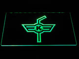 EHC Kloten LED Neon Sign - Green - SafeSpecial