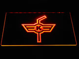 EHC Kloten LED Neon Sign - Orange - SafeSpecial