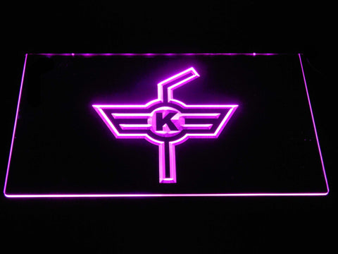 EHC Kloten LED Neon Sign - Purple - SafeSpecial