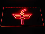 EHC Kloten LED Neon Sign - Red - SafeSpecial