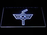 EHC Kloten LED Neon Sign - White - SafeSpecial
