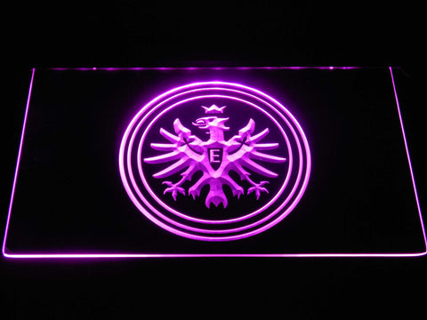 Eintracht Frankfurt LED Neon Sign - Purple - SafeSpecial
