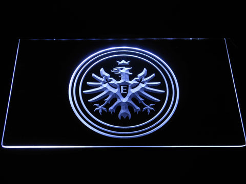 Eintracht Frankfurt LED Neon Sign - White - SafeSpecial