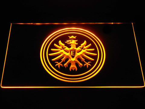 Eintracht Frankfurt LED Neon Sign - Yellow - SafeSpecial