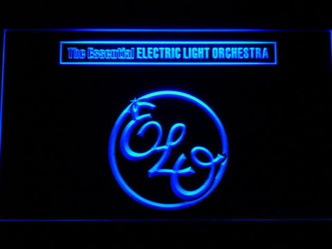 Image of Electric Light Orchestra The Essential LED Neon Sign - Blue - SafeSpecial