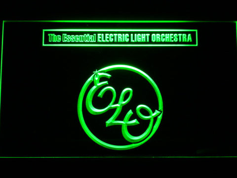 Image of Electric Light Orchestra The Essential LED Neon Sign - Green - SafeSpecial