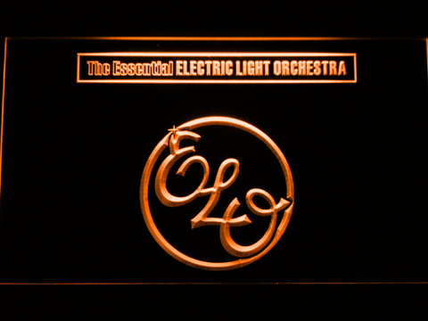 Image of Electric Light Orchestra The Essential LED Neon Sign - Orange - SafeSpecial