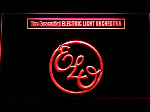 Image of Electric Light Orchestra The Essential LED Neon Sign - Red - SafeSpecial