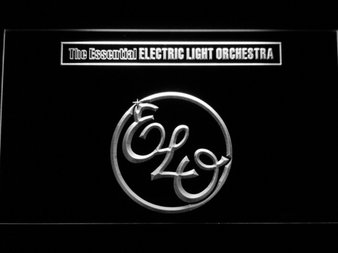 Image of Electric Light Orchestra The Essential LED Neon Sign - White - SafeSpecial