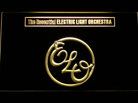 Image of Electric Light Orchestra The Essential LED Neon Sign - Yellow - SafeSpecial