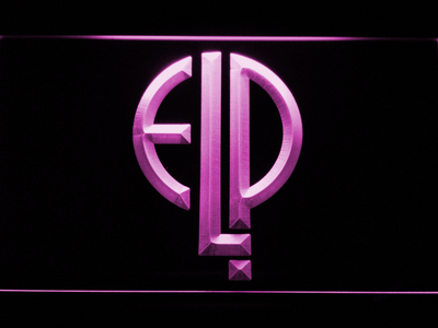 Emerson, Lake & Palmer LED Neon Sign - Purple - SafeSpecial
