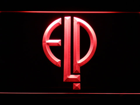 Emerson, Lake & Palmer LED Neon Sign - Red - SafeSpecial