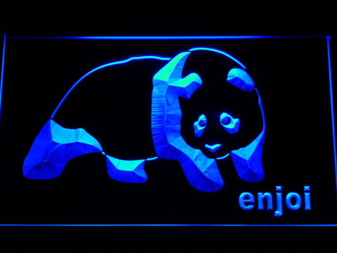 Enjoi LED Neon Sign - Blue - SafeSpecial