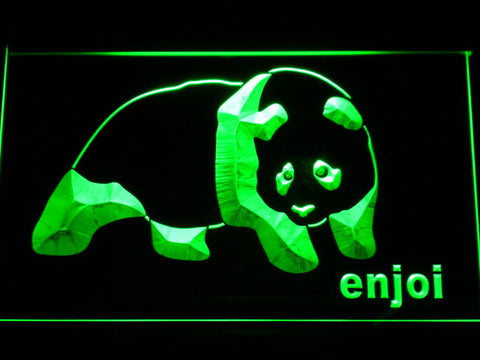 Enjoi LED Neon Sign - Green - SafeSpecial