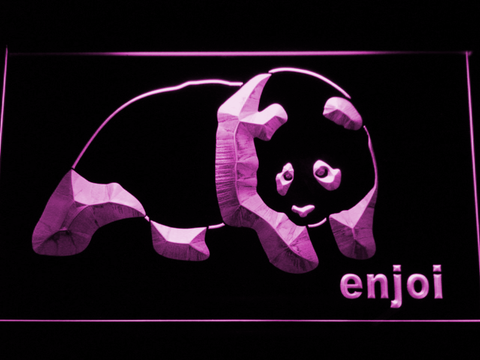 Enjoi LED Neon Sign - Purple - SafeSpecial