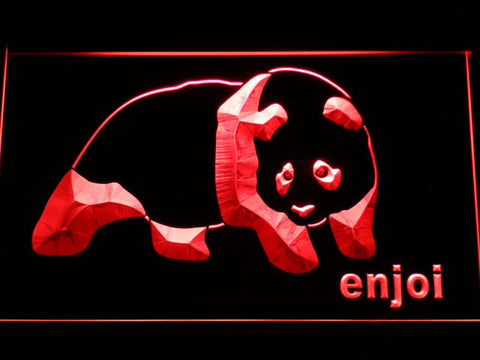 Enjoi LED Neon Sign - Red - SafeSpecial