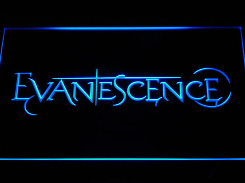 Evanescence LED Neon Sign - Blue - SafeSpecial