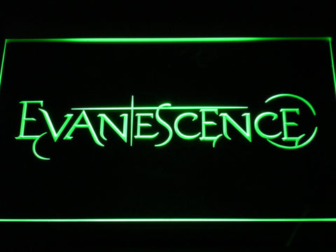 Evanescence LED Neon Sign - Green - SafeSpecial