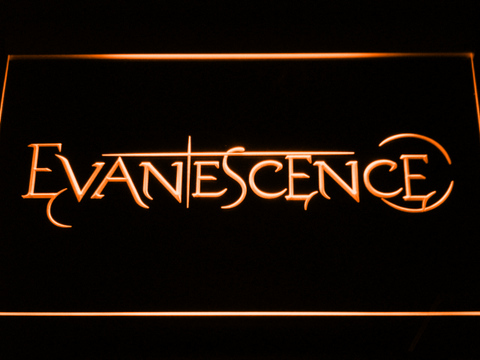 Evanescence LED Neon Sign - Orange - SafeSpecial