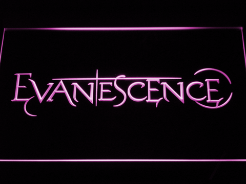 Evanescence LED Neon Sign - Purple - SafeSpecial