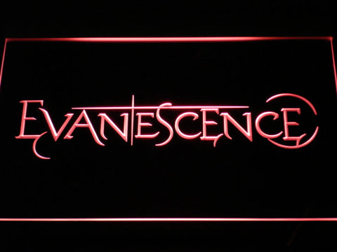 Evanescence LED Neon Sign - Red - SafeSpecial