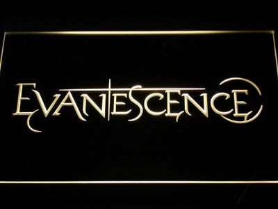 Evanescence LED Neon Sign - Yellow - SafeSpecial