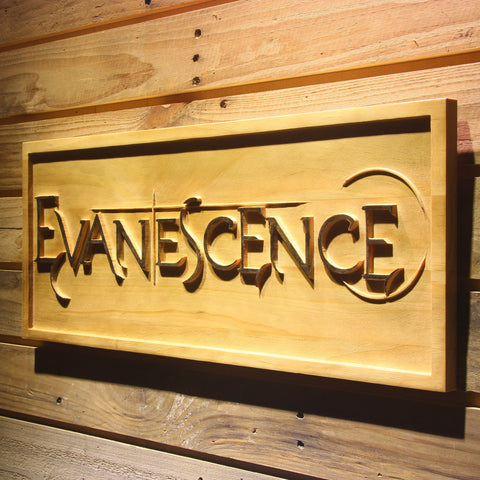 Evanescence Wooden Sign - - SafeSpecial
